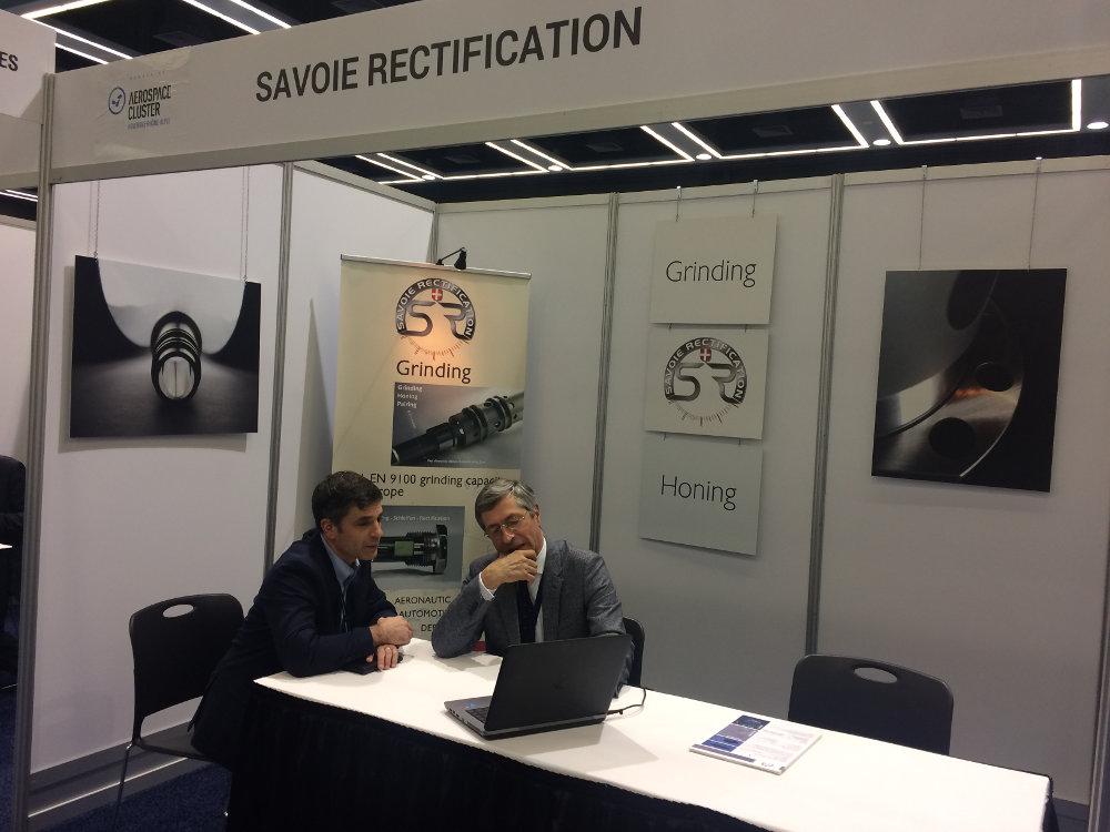 Savoie Rectification à l'aerospace and defense summit - seattle