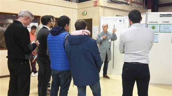 """Visite de l'entreprise Savoie Rectification via le programme SPACE """"performances industrielles"""""""